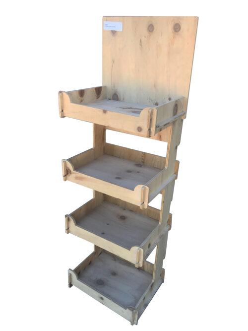 Medium 4 shelf stand